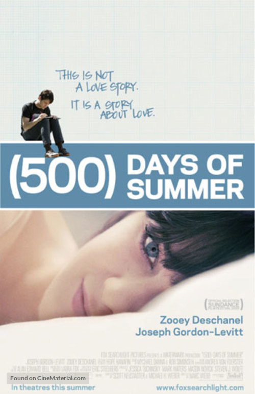(500) Days of Summer - Never printed movie poster