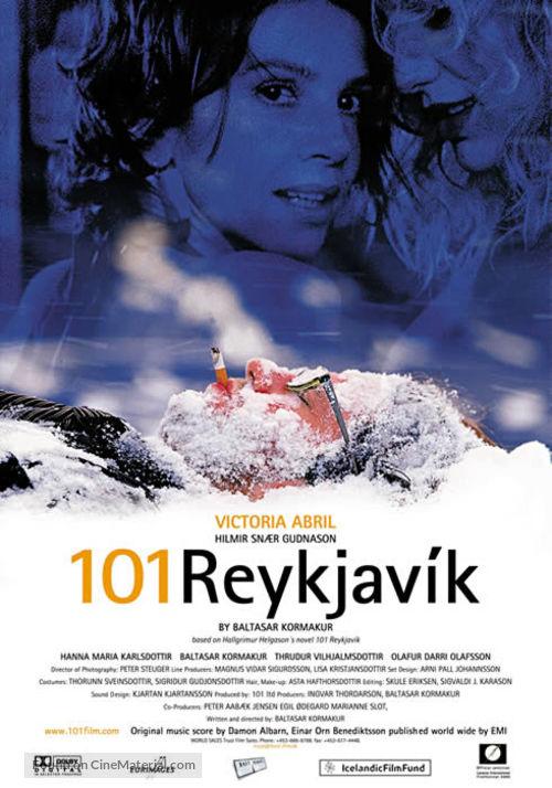 101 Reykjavík - Icelandic Movie Poster