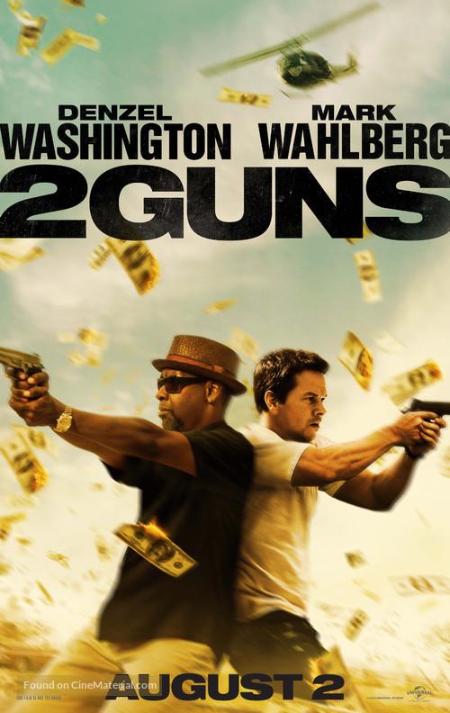 2 Guns - Movie Poster