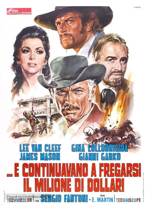 Bad Man's River - Italian Movie Poster