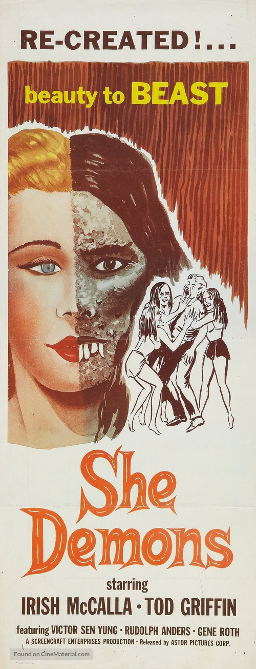 She Demons - Movie Poster