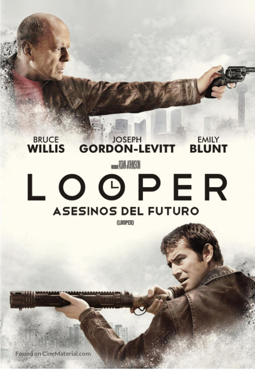 Looper - Argentinian DVD movie cover