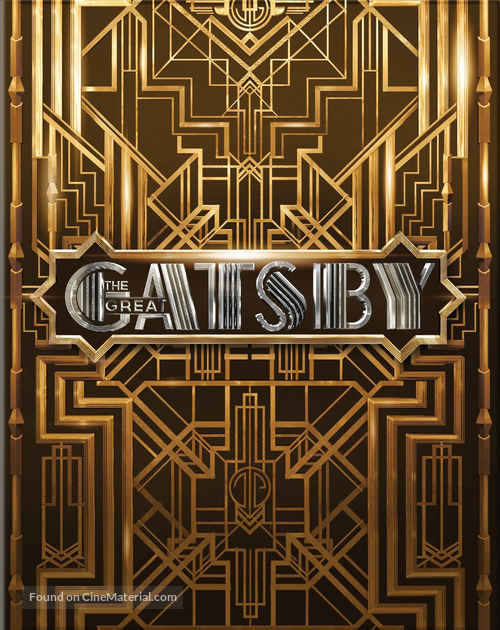 The Great Gatsby - Blu-Ray movie cover