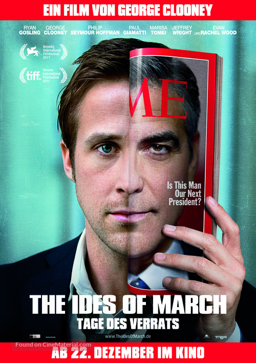 The Ides of March - German Movie Poster