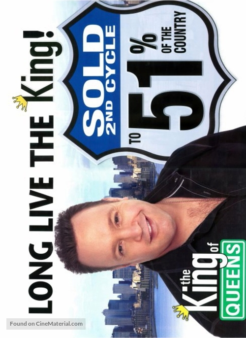 """""""The King of Queens"""" - Movie Poster"""