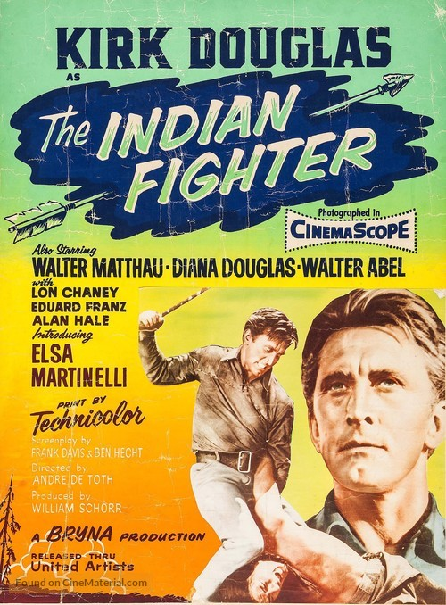 The Indian Fighter - Movie Poster