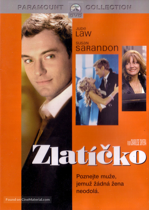 Alfie - Czech DVD movie cover