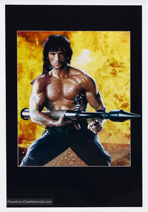 Rambo: First Blood Part II - Key art