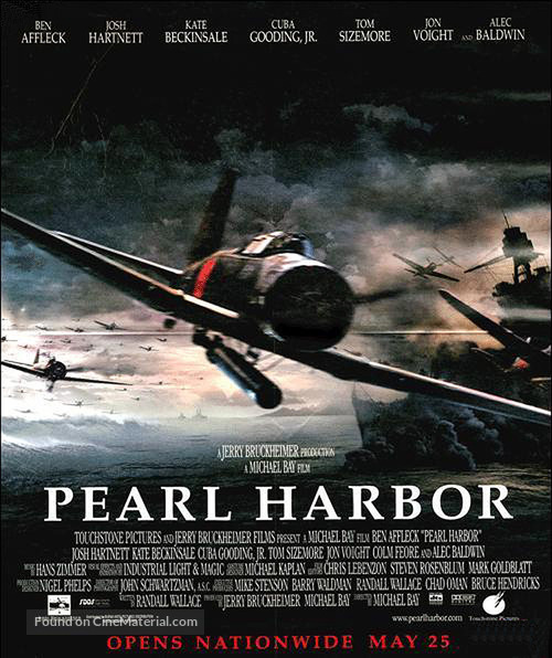 Pearl Harbor - Movie Poster