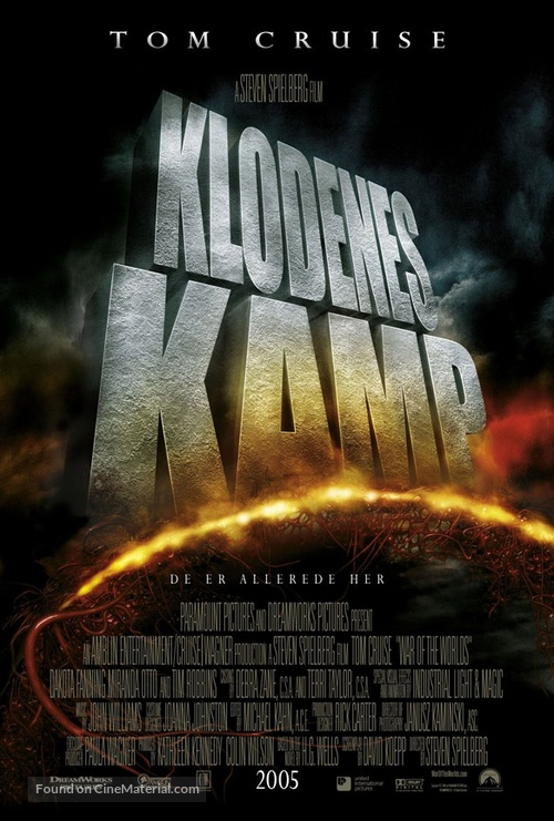 War of the Worlds - Norwegian Movie Poster