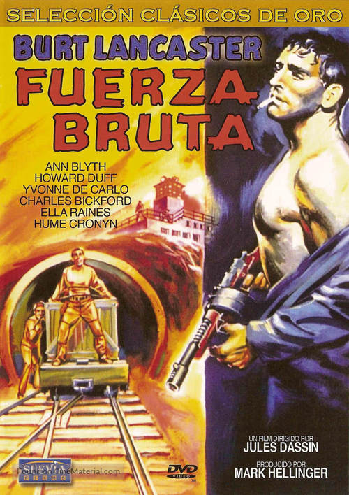 Brute Force - Spanish DVD movie cover