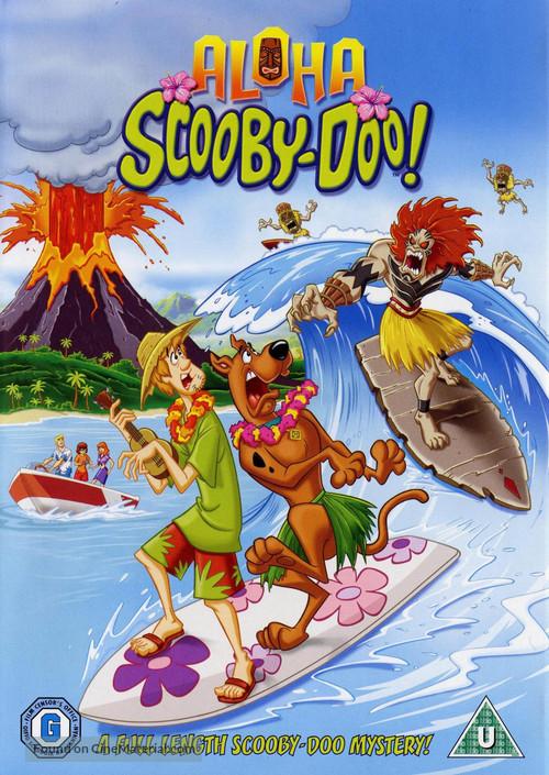 Aloha, Scooby-Doo - British DVD movie cover