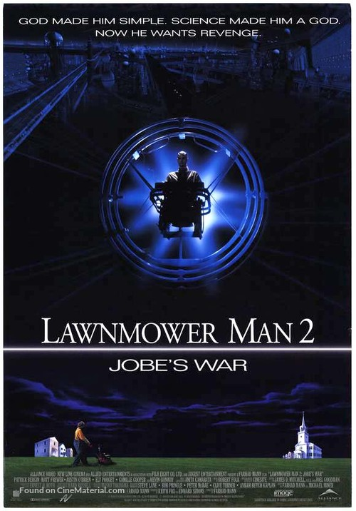 Lawnmower Man 2: Beyond Cyberspace - Canadian Movie Poster