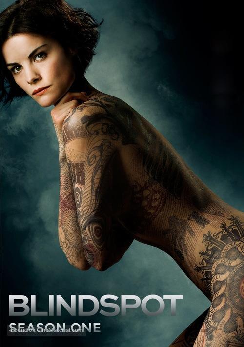 """""""Blindspot"""" - DVD movie cover"""