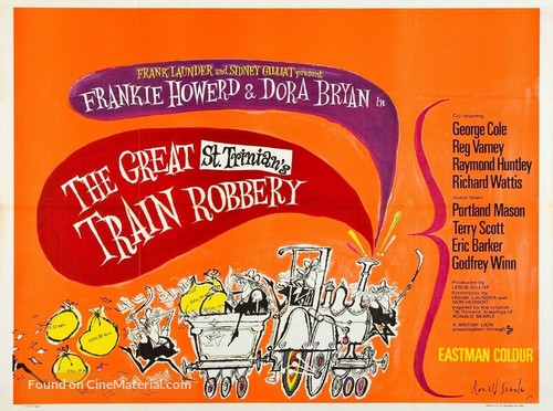 The Great St. Trinian's Train Robbery - British Movie Poster