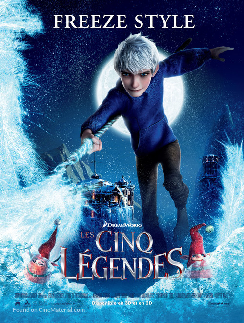 Rise Of The Guardians 2012 French Movie Poster