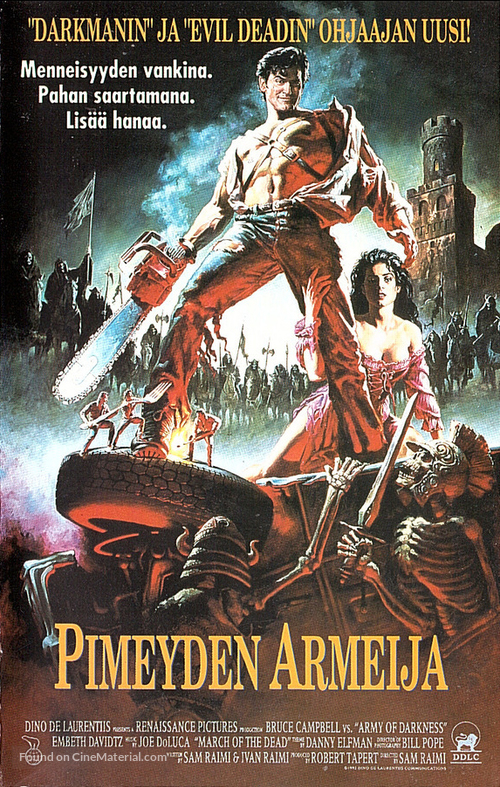 Army Of Darkness - Finnish Movie Cover