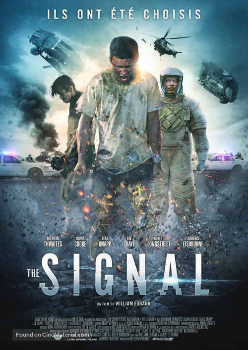 The Signal - French Movie Poster