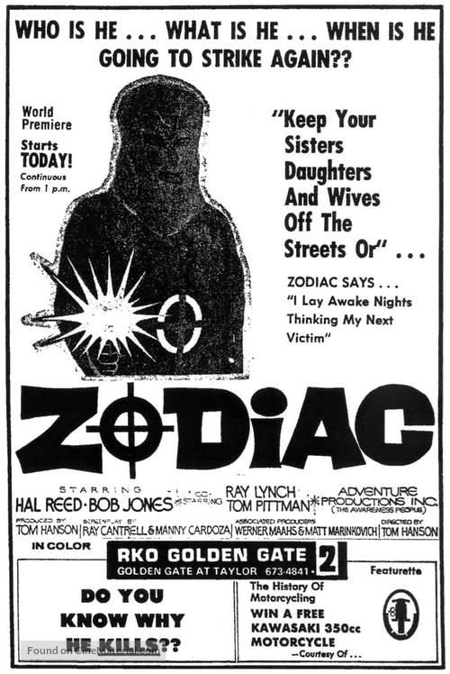 The Zodiac Killer - Movie Poster