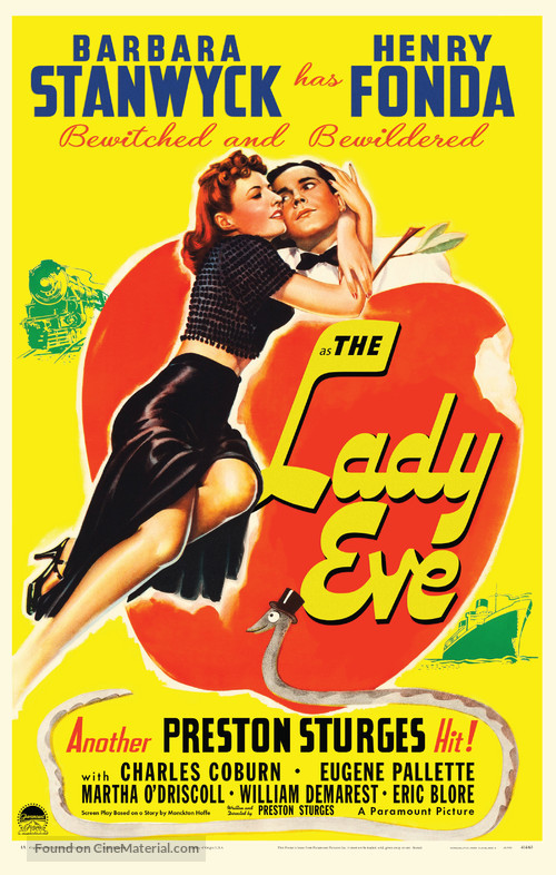 The Lady Eve - poster