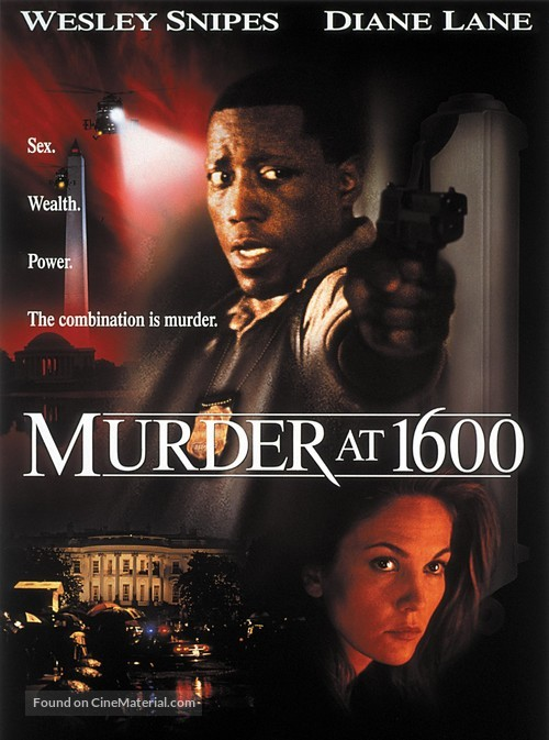 Murder At 1600 - DVD movie cover