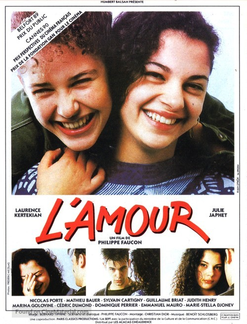 L'amour - French Movie Poster