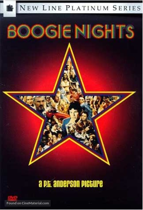 Boogie Nights - DVD movie cover