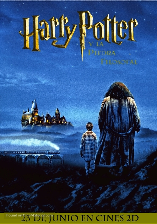 Harry Potter and the Sorcerer's Stone - Argentinian Movie Poster