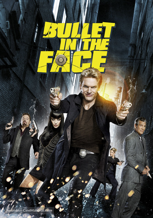 """""""Bullet in the Face"""" - Canadian Movie Poster"""