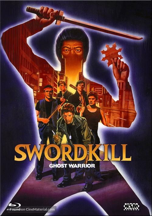 Ghost Warrior - Austrian Blu-Ray movie cover