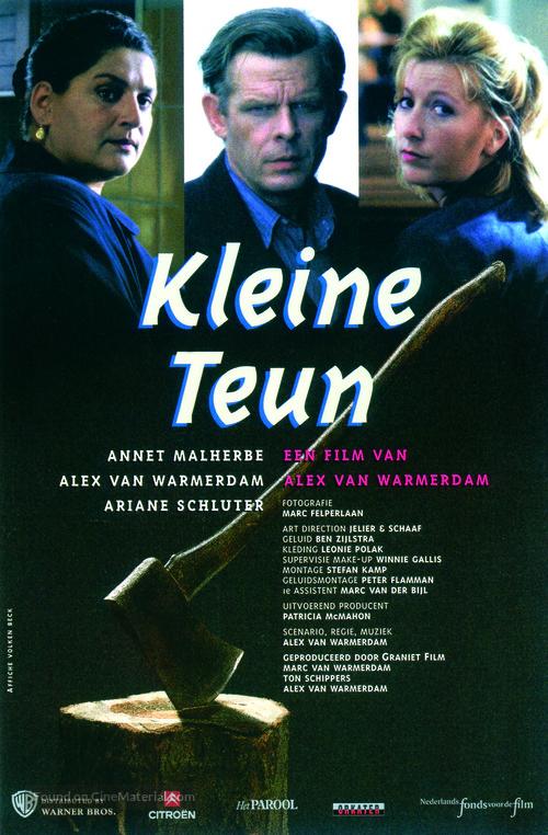 Kleine Teun - Dutch poster