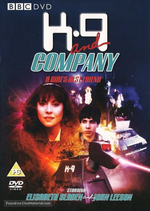 K-9 and Company: A Girl's Best Friend - British DVD cover