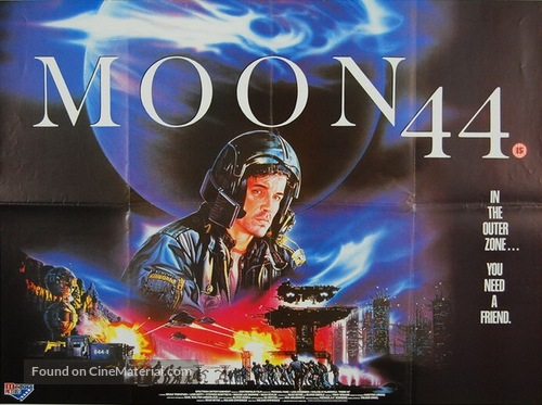 Moon 44 - British Movie Poster