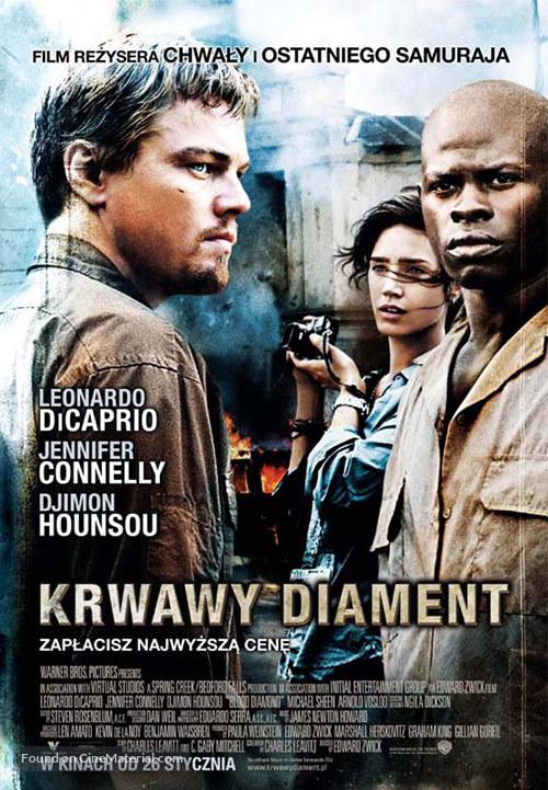 Blood Diamond - Polish Movie Poster