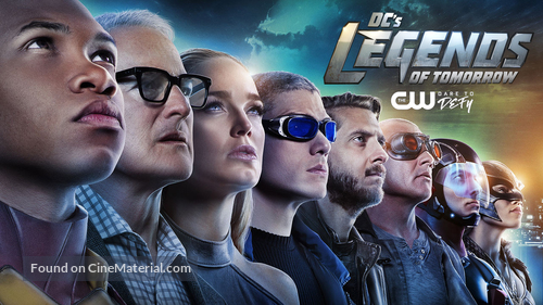 """""""DC's Legends of Tomorrow"""" - Movie Poster"""