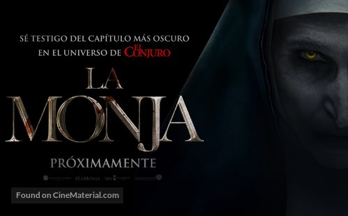 The Nun - Argentinian Movie Poster
