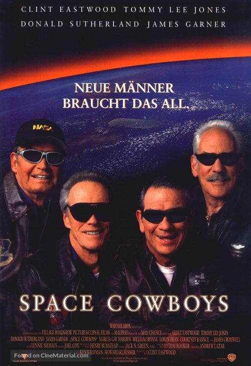 Space Cowboys - German Movie Poster