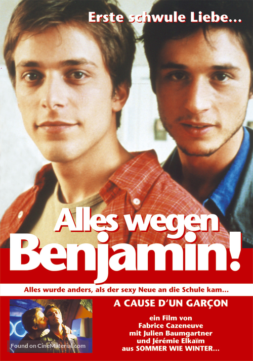 À cause d'un garçon - German Movie Poster