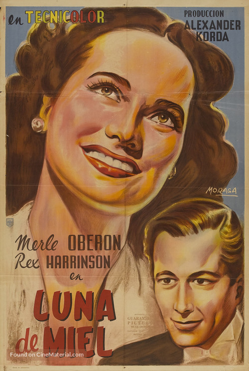 Over the Moon - Argentinian Movie Poster