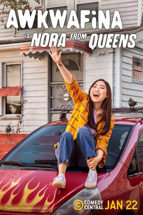 """""""Awkwafina Is Nora from Queens"""" - Movie Poster"""