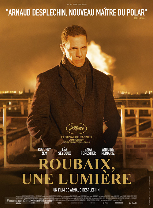 Roubaix, une lumière - French Movie Poster
