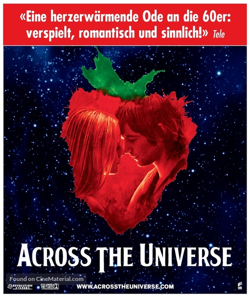 Across the Universe - German poster