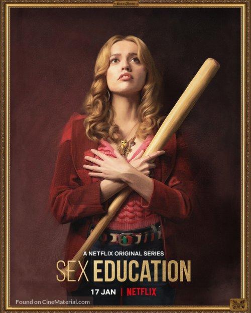 """Sex Education"" - British Movie Poster"