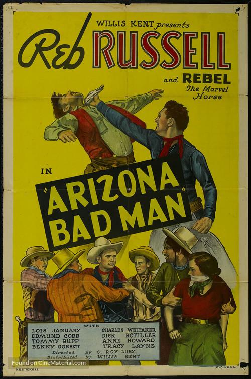 Arizona Bad Man - Movie Poster