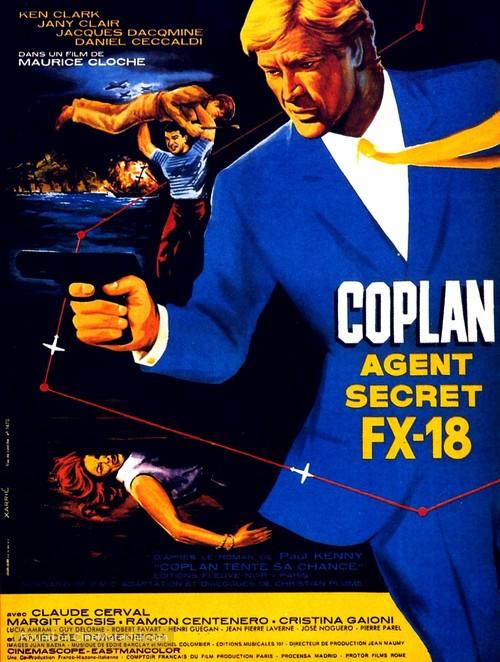 Agent secret FX 18 - French Movie Poster