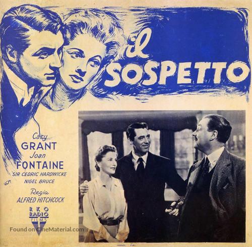 Suspicion - Italian poster