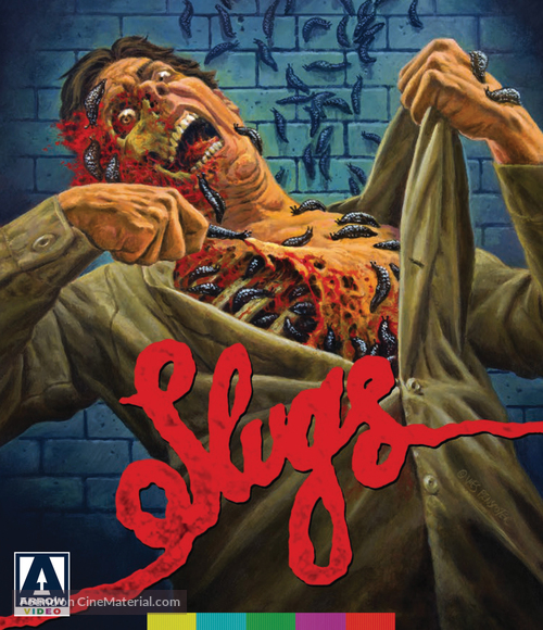 Slugs, muerte viscosa - Blu-Ray movie cover