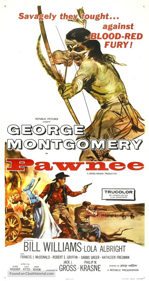 Pawnee - Movie Poster