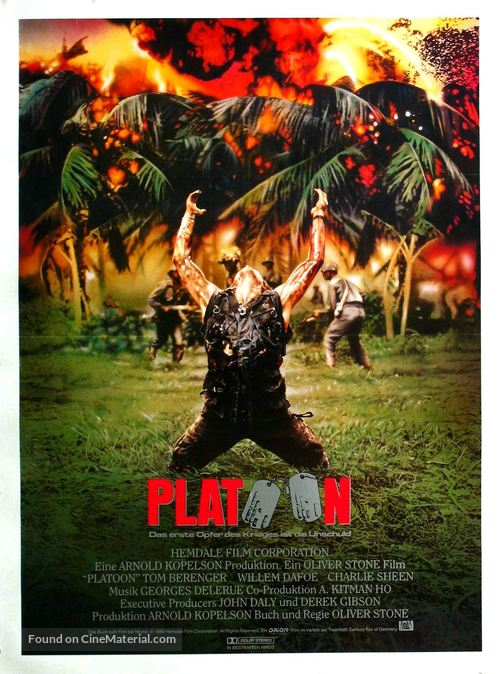 Platoon - Movie Poster