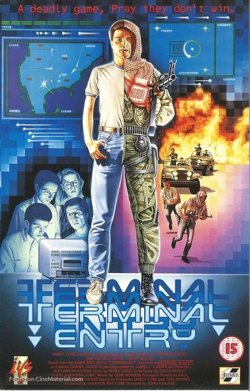Terminal Entry - British VHS movie cover
